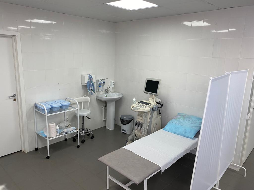 процедурный кабинет в клинике