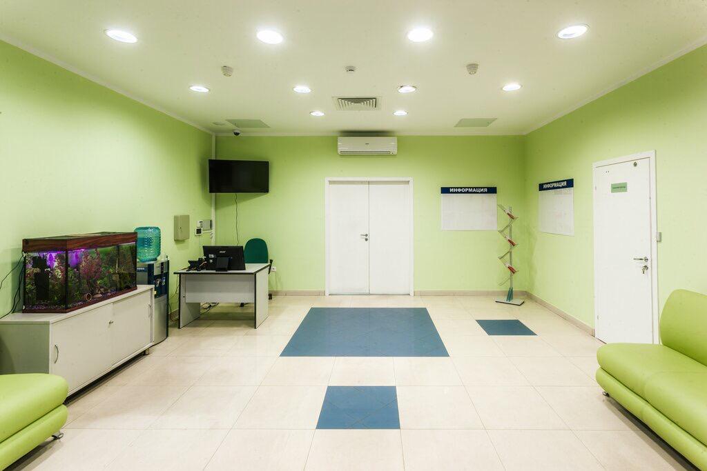 фойе клиники