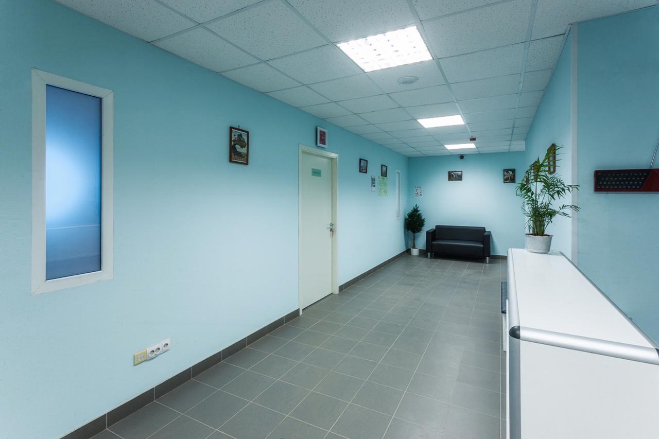 коридор клиники