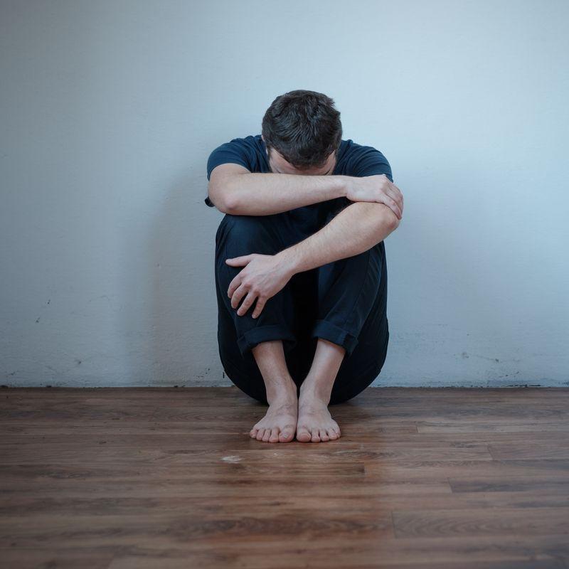 фото человека в депрессии