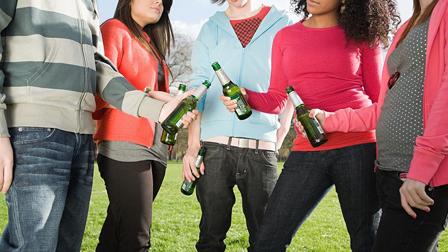 молодежь и пивной алкоголизм