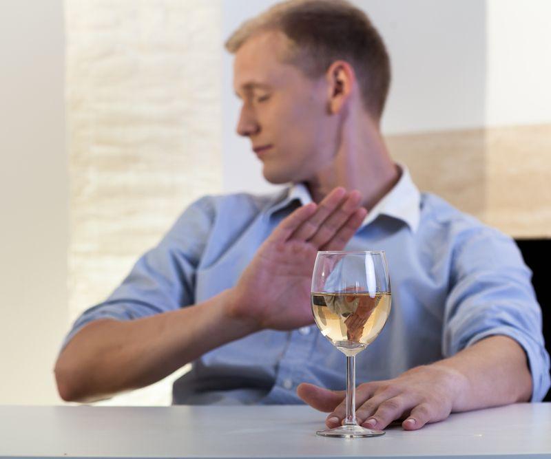 цель лечения - отказ от алкоголя